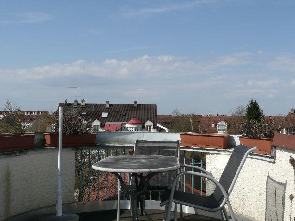 Dachterrasse Wohnzimmer