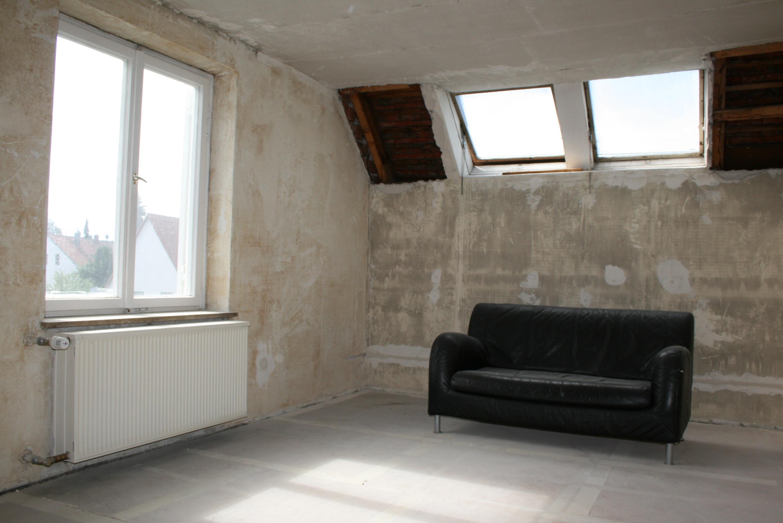 Ausbaufähiges Dachgeschoss