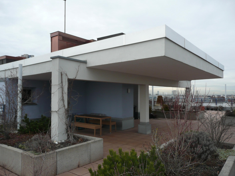 Dachterrasse mit Freisitz