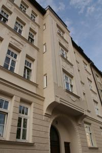 Blick auf die Fassade