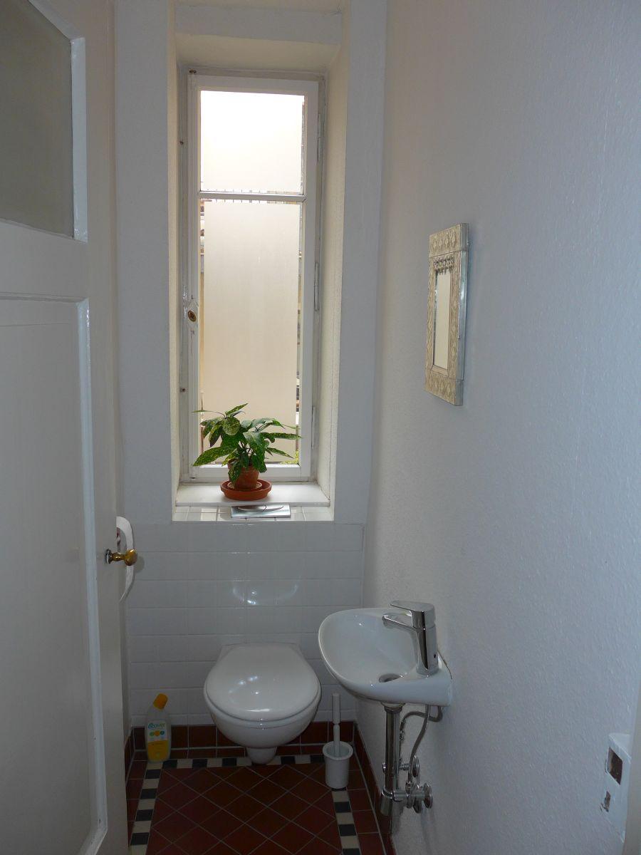 Blick in das WC