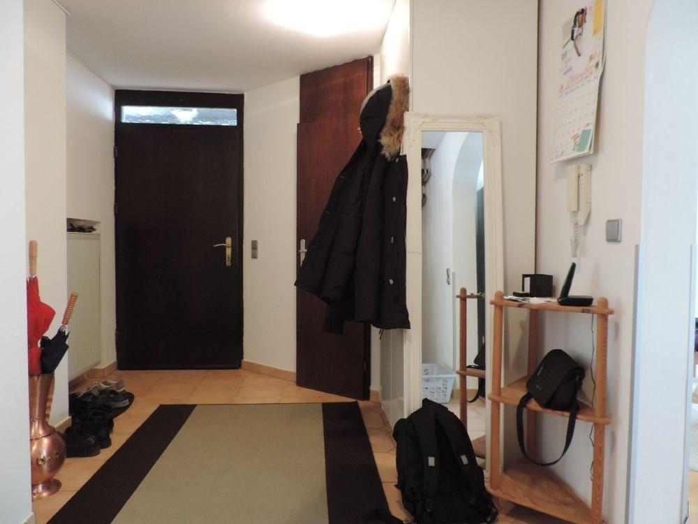 Blick in den Eingangsbereich